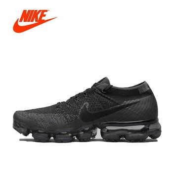New Arrival Original Authentic Nike Air VaporMax Flyknit Running Shoes Men Breathable Sport Outdoor Sneakers 849558-007