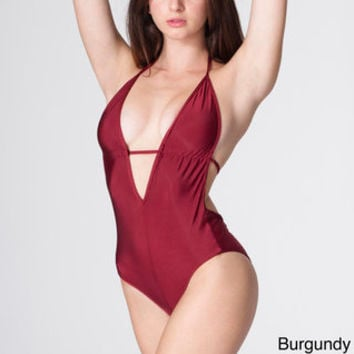 American Apparel Women's Nylon Tricot One-piece Swimsuit | Overstock.com