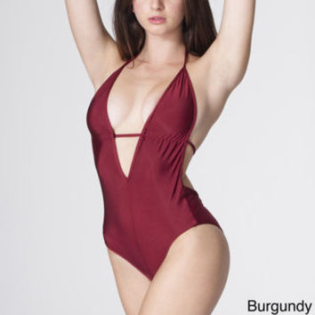 c6162dab54ce6 American Apparel Women s Nylon Tricot One-piece Swimsuit