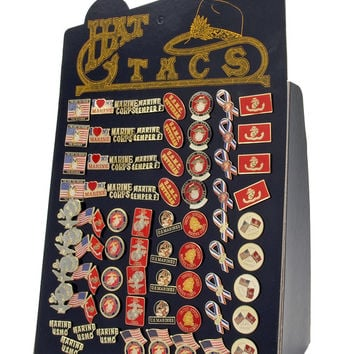 72-pc. Marines Hat Pin Assortment