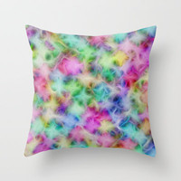 Pastel Dream Throw Pillow by Alice Gosling
