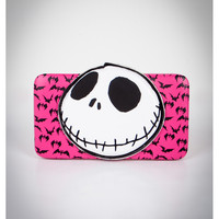 Nightmare Before Christmas Jack with Bats Hinged Wallet