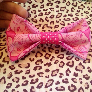 Barbie Hair Bow Alligator Clip by CaylasBows on Etsy