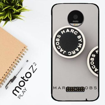 Marc Jacobs Logo X4230 Motorola Moto Z2 Play Case
