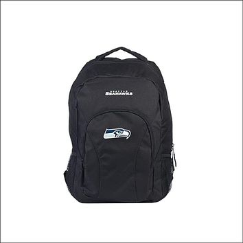 """Seahawks OFFICIAL National Football League, """"""""Draft Day"""""""" 18""""""""H x 10"""""""" (12"""""""" Back) Backpack  by The Northwest Company"""
