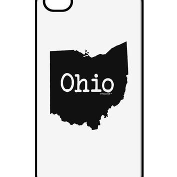 Ohio - United States Shape iPhone 4 / 4S Case  by TooLoud