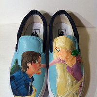 Hand Painted Disney's Tangled Vans