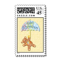 Baby Shower postage stamp from Zazzle.com
