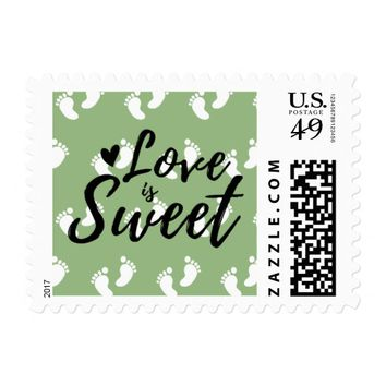 Love is Sweet | Baby Postage Stamps