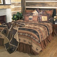 Autumn Trails Cabin Bedding