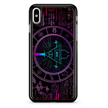 Bill Cipher Galaxy iPhone X Case