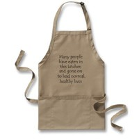 Funny aprons unique gift idea or retail products from Zazzle.com
