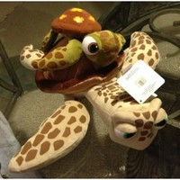 Disney Park Finding Nemo Crush and Squirt Turtle Plush Doll NEW