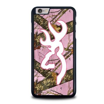 CAMO BROWNING PINK iPhone 6 / 6S Plus Case Cover