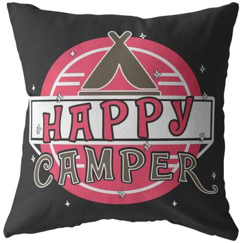 Camping Pillows Happy Camper