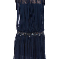 Beaded waist dress - Dresses  - Clothing  - Dorothy Perkins