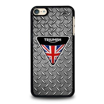 LOGO TRIUMPH MOTORCYCLE iPod Touch 6 Case Cover