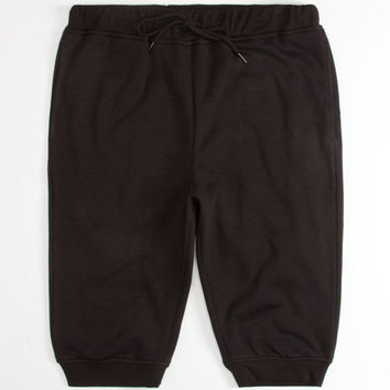 Elwood Mens Jogger Shorts Black  In Sizes