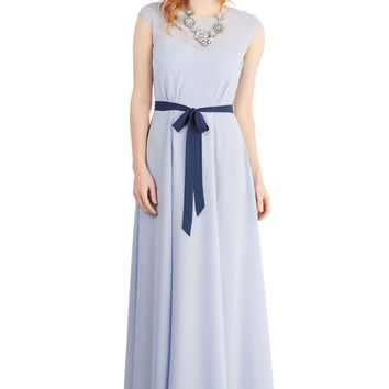 Just Sway the Word Dress in Periwinkle | Mod Retro Vintage Dresses | ModCloth.com