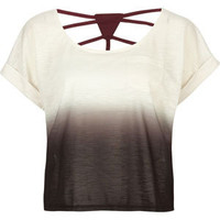 FULL TILT Dip Dye Womens Top