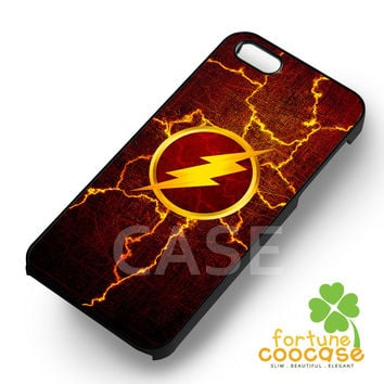 The flash lighting symbol -EnLs for iPhone 6S case, iPhone 5s case, iPhone 6 case, iPhone 4S, Samsung S6 Edge