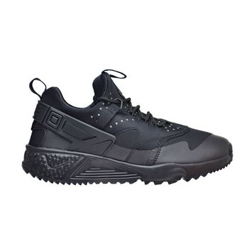Nike Air Huarache Utility Men's Black/Black Running Shoes 806807-004