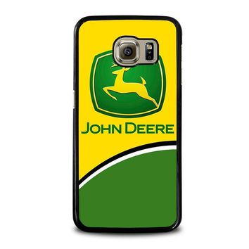 john deere 2 samsung galaxy s6 case cover  number 1