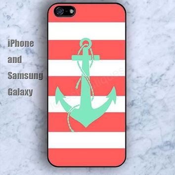 Anchor lighting colorful iPhone 5/5S case Ipod Silicone plastic Phone cover Waterproof
