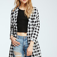 Checked Dolman Jacket