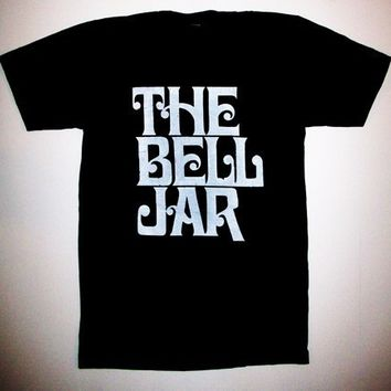 Mens The Bell Jar T Shirt Sizes S, M, L, XL, sylvia plath