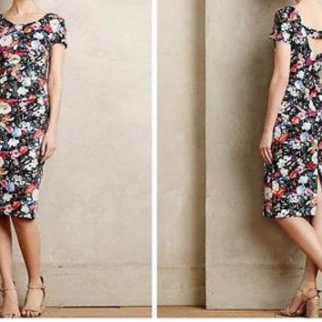 Anthropologie $348 Maura Sheath Dress by Contrarian - NWT