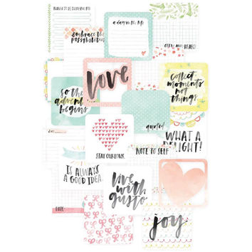Project Life Die Cut Inspire Edition 4x4 Cards