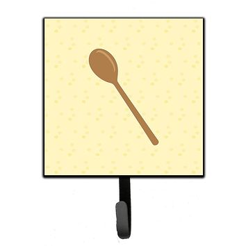 Wooden Spoon on Yellow Leash or Key Holder BB7285SH4