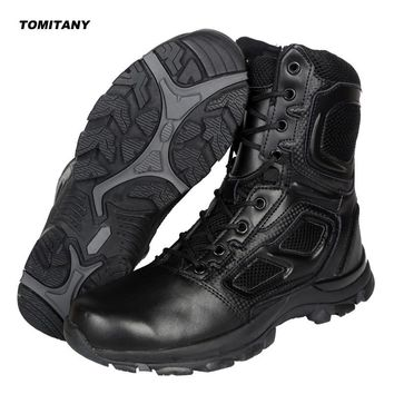 Trekking Camping Hiking Boots Men Professional Outdoor Climbing Hunting Shoes Mens Waterproof Military Tactical Boot Man