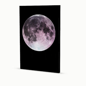 Moon Print, Moon Poster, Moon Wall Art, Moon Poster, Mounted Moon Art, Moon Gallery Art