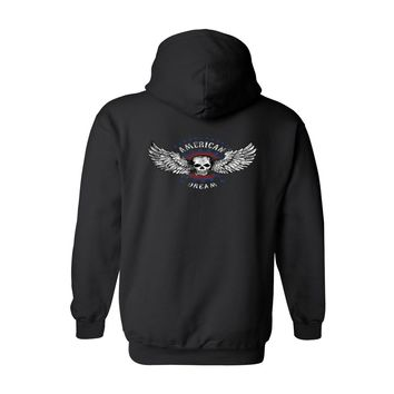 Men's/Unisex Zip-Up Hoodie American Dream