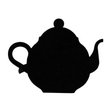 Wrought Iron Teapot Napkin Ring