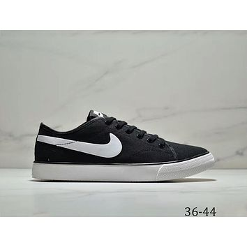 Nike Primo Court Canvas men's and women's canvas shoes casual white shoes F-AA-SDDSL-KHZHXMKH Black