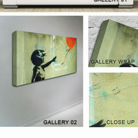 Balloon Girl Canvas