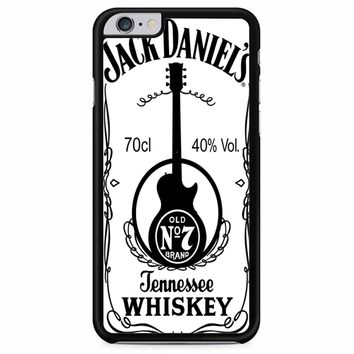 Jack Daniels White iPhone 6 Plus/ 6S Plus Case