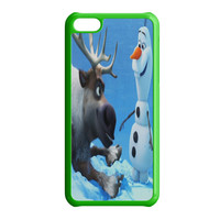 Sven and Olaf Funny Cartoon iPhone 5C Case