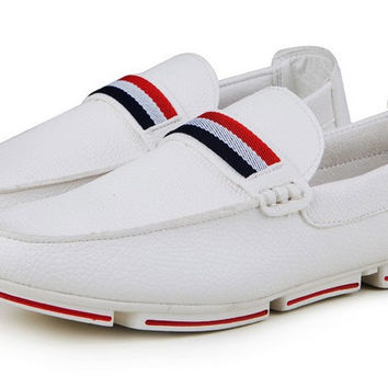 Mens Leisure Comfort Loafers Casual Shoes