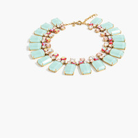 J.Crew Womens Frosted Lucite Necklace