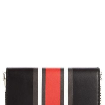 Givenchy Pandora Calfskin Leather Wallet on a Chain | Nordstrom