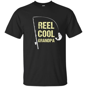 Fishing Grandpa Shirt Funny Dad Fathers Day Gift Fisherman