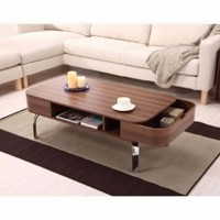 Lawson Modern 2 Drawer Coffee Table