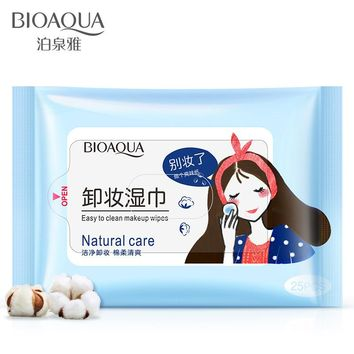 25Pcs/Pack Makeup Wipes Makeup Remover Face Eye Deep Cleansing Cotton Pads