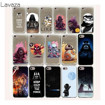 Lavaza 17FF Star Wars Hard Case For iPhone 8 7 6 6s Plus 5 5s 5C SE 4 4S cover X 10