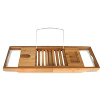 Toilet Tree Products Bamboo Bathtub Caddy - Walmart.com