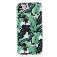 Hawaii Banana Leaf Case Cover for iPhone X 8 6S 7 Plus &Gift Box